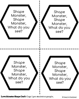 Valentine's Day Math Book Companions Craft Pack: Your Favorite Titles!