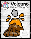Volcano Craft, Writing Activity for Hawaii, Lava, Rocks Exploration Center
