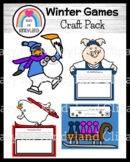 Winter Olympics Craft Pack (Tacky, Snowman Paul, Olympig!, Ten In a Sled)
