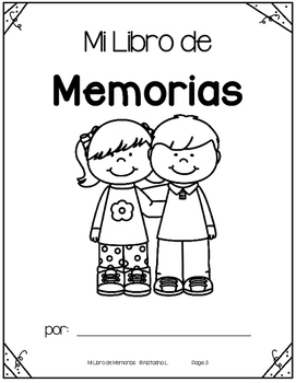 Year-End Memory Booklet (Spanish)