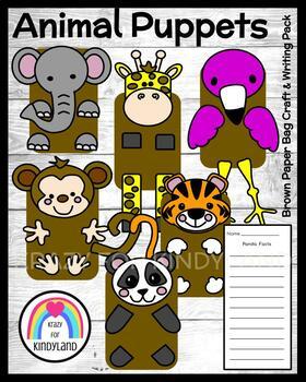 Zoo Craft Pack (Monkey,Tiger,Elephant,Giraffe,Panda,Flamingo)