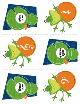 Flash Frog™ | Music Flash Cards (Matching/Memory) Game (Digital Print)