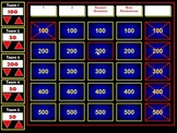 Flash Jeopardy Review Game