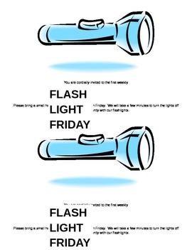 Flash Light Friday