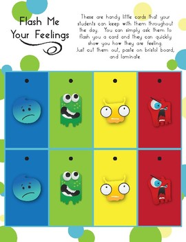Flash Me Your Feelings - Self Regulation