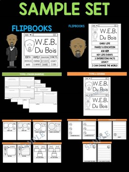 MEGA DEAL BUNDLE : 33 Black History Flipbooks