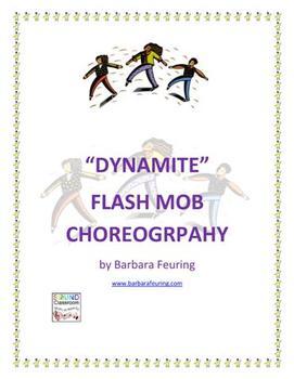 Flash Mob ( Flashmob ) Choreography - Dynamite by Taio Cruz