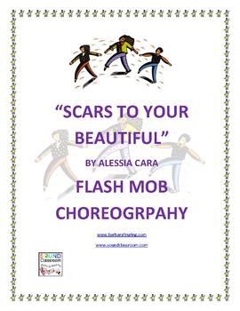 Flash Mob ( Flashmob ) Choreography - Scars To Your Beautiful by Alessia Cara