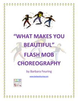 Flash Mob ( Flashmob ) Choreography - What Makes You Beautiful by One Direction