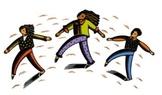 Flash Mob ( Flashmob ) Dancing In Education (Combo Pack #1)