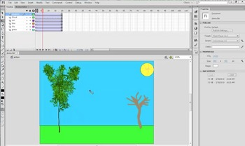 Flash - Part 6 of 6 :: Animate using the Deco Tool