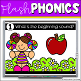 Flash Phonics {Digital Resources for Distance Learning}