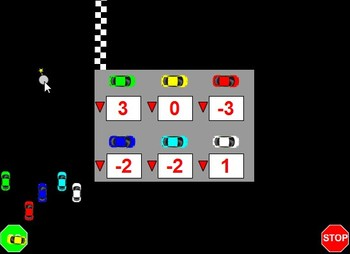 Flash Racecar Review Game