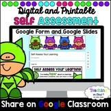 Digital Self Assessment | Student Reflection | Google Classroom | Google Form