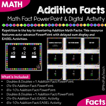 Flash Subtraction Math Fact PowerPoint