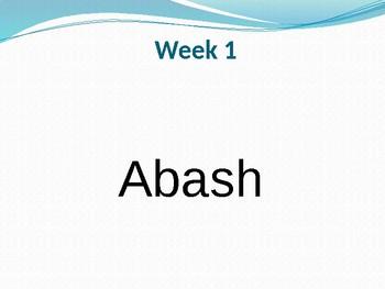 Flash Words 1 - Vocabulary