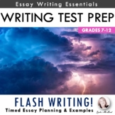 Writing Assessment Prep: Flash Writing Essay Planning & Modeling Activity