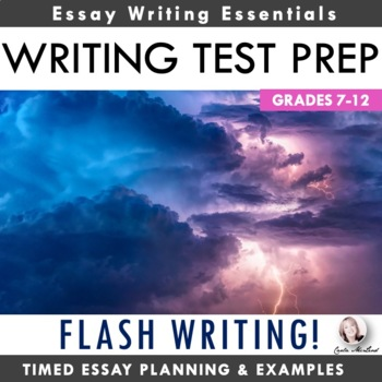 Flash Writing:  State Assessment Prep & Essay Planning Activity