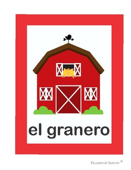 Flash cards Animales de la Granja / Farm Animals