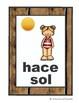 Flash cards El tiempo / Spanish Weather