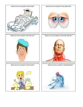 Flashcards - Health Problems
