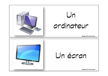 Flash cards ordinateur et internet - 20 mots clés