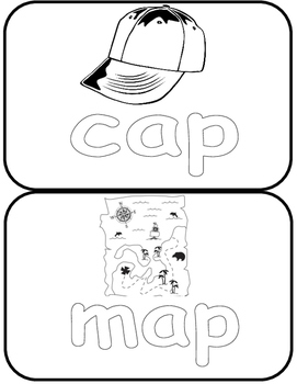 Flash cards ( to color)