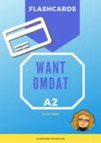 Flash cards - want / omdat (A2)