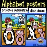 Farm Alphabet Posters