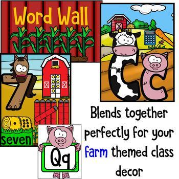 Farm class decor mini bundle