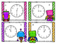 Flash to the Future Telling Time Task Cards (Differentiated)
