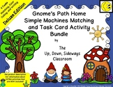 Gnome's Path Home Simple Machines Matching/Task Card Activ