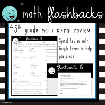 Flashback 5th Grade Math Spiral Review