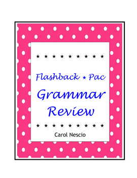 Flashback * Pac ~ Grammar Review For Students of French, G