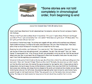 Flashbacks in Stories