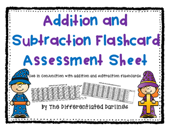 Flashcard Assessment Sheet