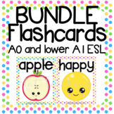 Flashcard Bundle: Super Beginner Pack A0 English Young Learners