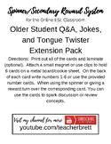 Flashcard Expansion Pack for Intermediate/Advanced Online