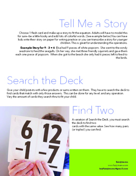 Flashcard Hacks: Creative and Engaging Way for Kids to Learn Their Math Facts