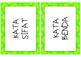 Indonesian - Flashcard Kata Sifat, Kerja, Benda - Adjectives, Verbs, Nouns
