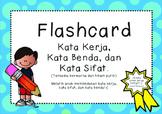 Indonesian - Flashcard Kata Sifat, Kerja, Benda - Adjectiv