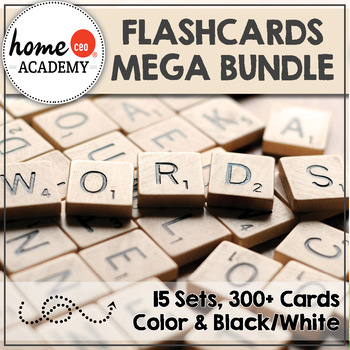 Preschool Flashcards MEGA Pack - 15 Essential Sets for Ear
