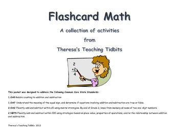 Flashcard Math for Common Core