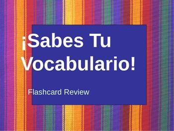 Flashcard Pair Study Power Point Presentation