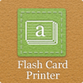 Flash Card Printer Software
