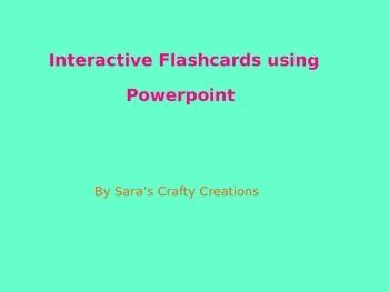 Flashcard Template
