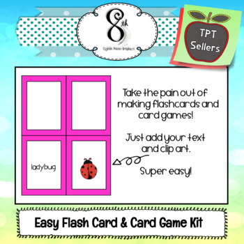 Flashcard and Card Game Maker