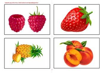 Flashcards fruits