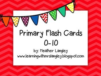 Flashcards 0-10