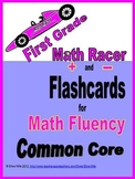 Flashcards 0-10 for First Grade Math Fluency in the Common Core